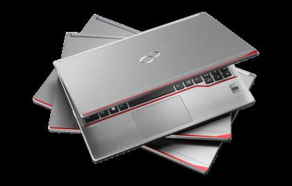 Wśród biznesowych notebooków Fujitsu LifeBooki E są nieco mniej prestiżowe niż te z oznaczeniem S lub U, a trochę bardziej od tych z literą A w nazwie