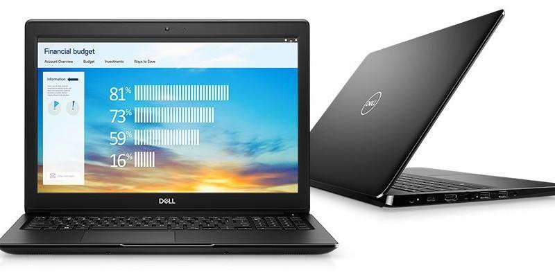 W laptopie Dell Latitude 3500 został fabrycznie zainstalowany system Microsoftu, dzięki czemu nikt nie musi się martwić o dodatkową, często stresującą instalację systemu operacyjnego wraz ze wszelkimi sterownikami